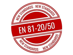 Are you aware of the new Lift Standards EN 81-20 and EN 81-50?